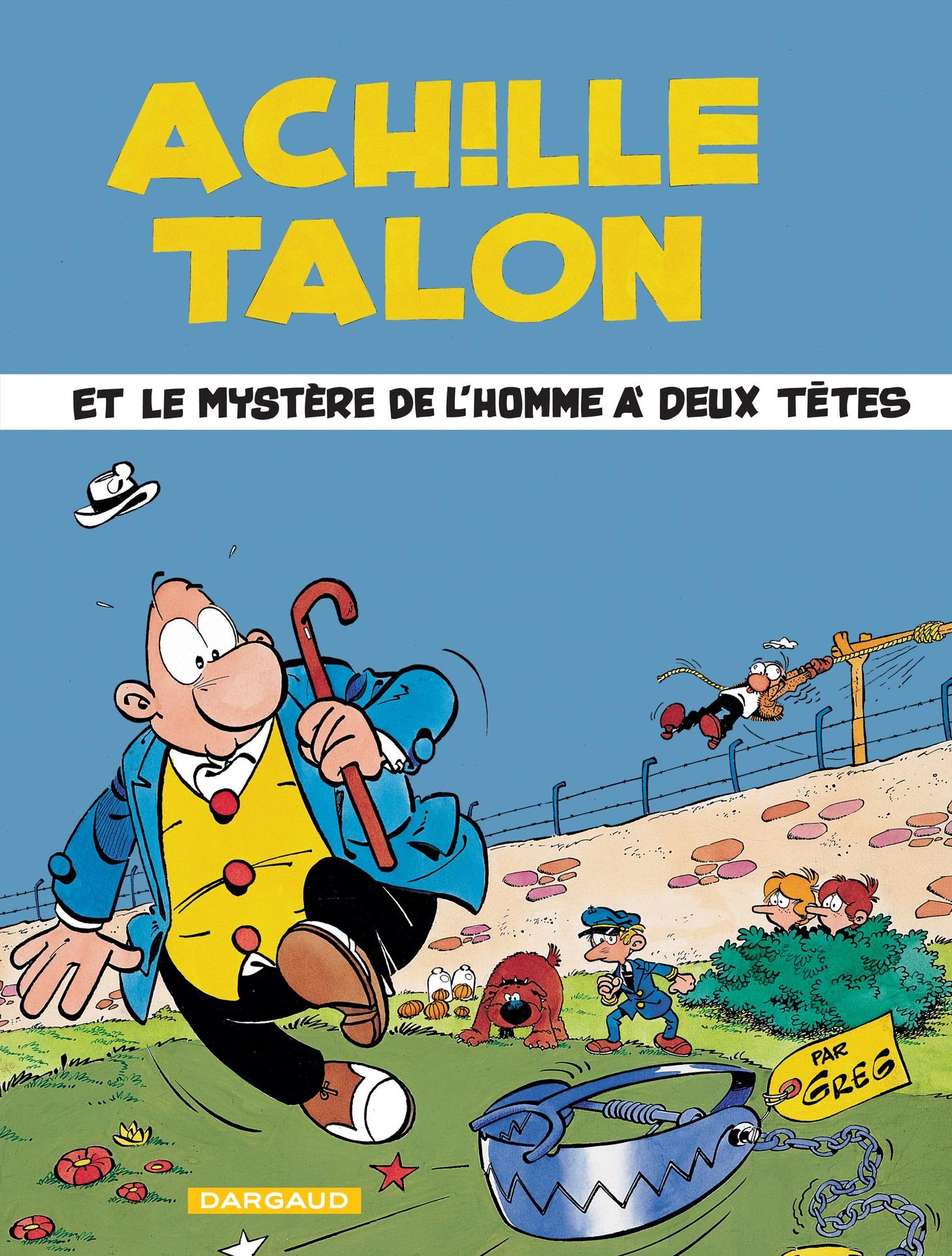Achille Talon - Tome 14 - Achille Talon et le mystère de l'homme à deux têtes