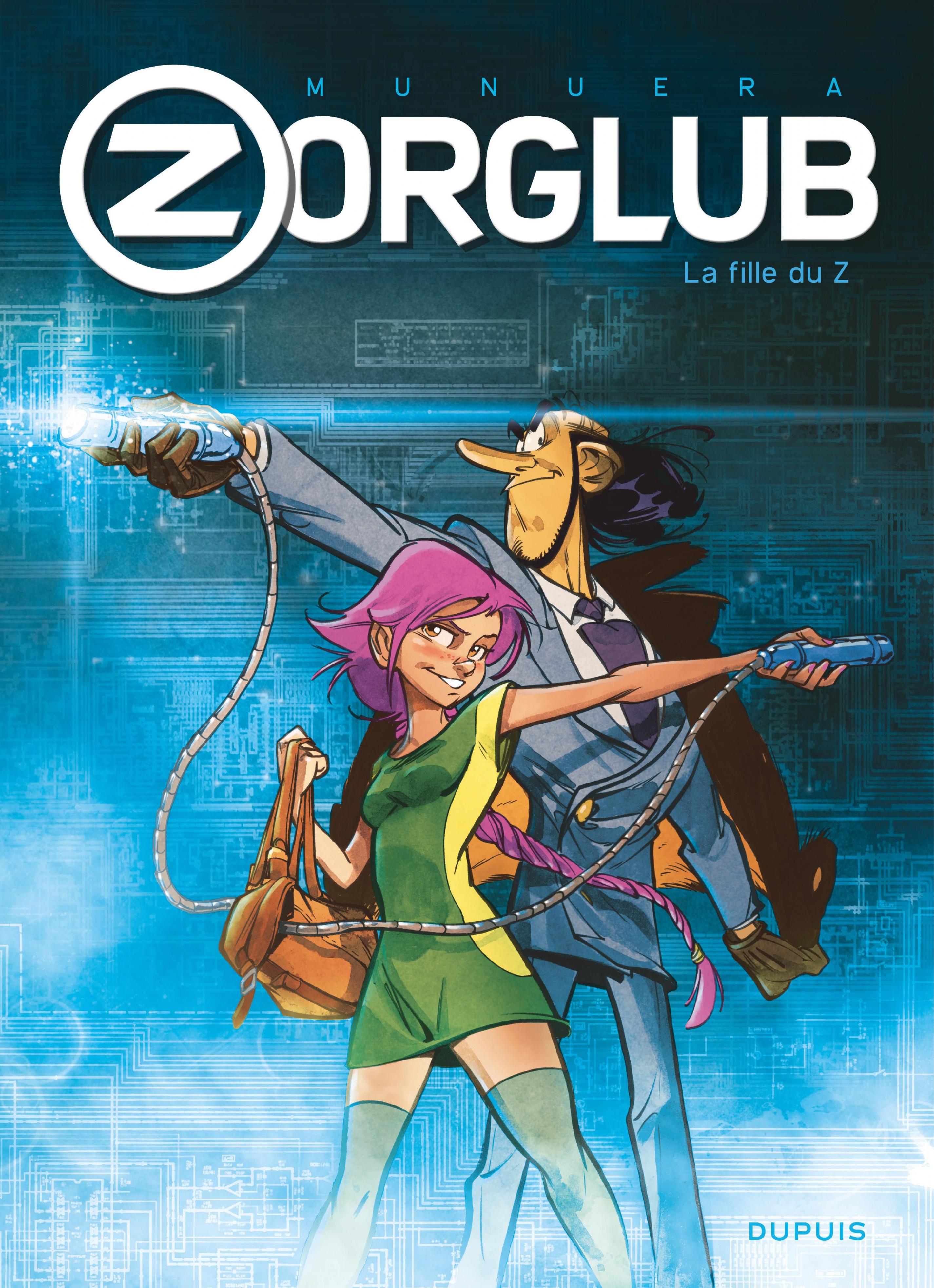 Zorglub - Tome 1 - La fille du Z |