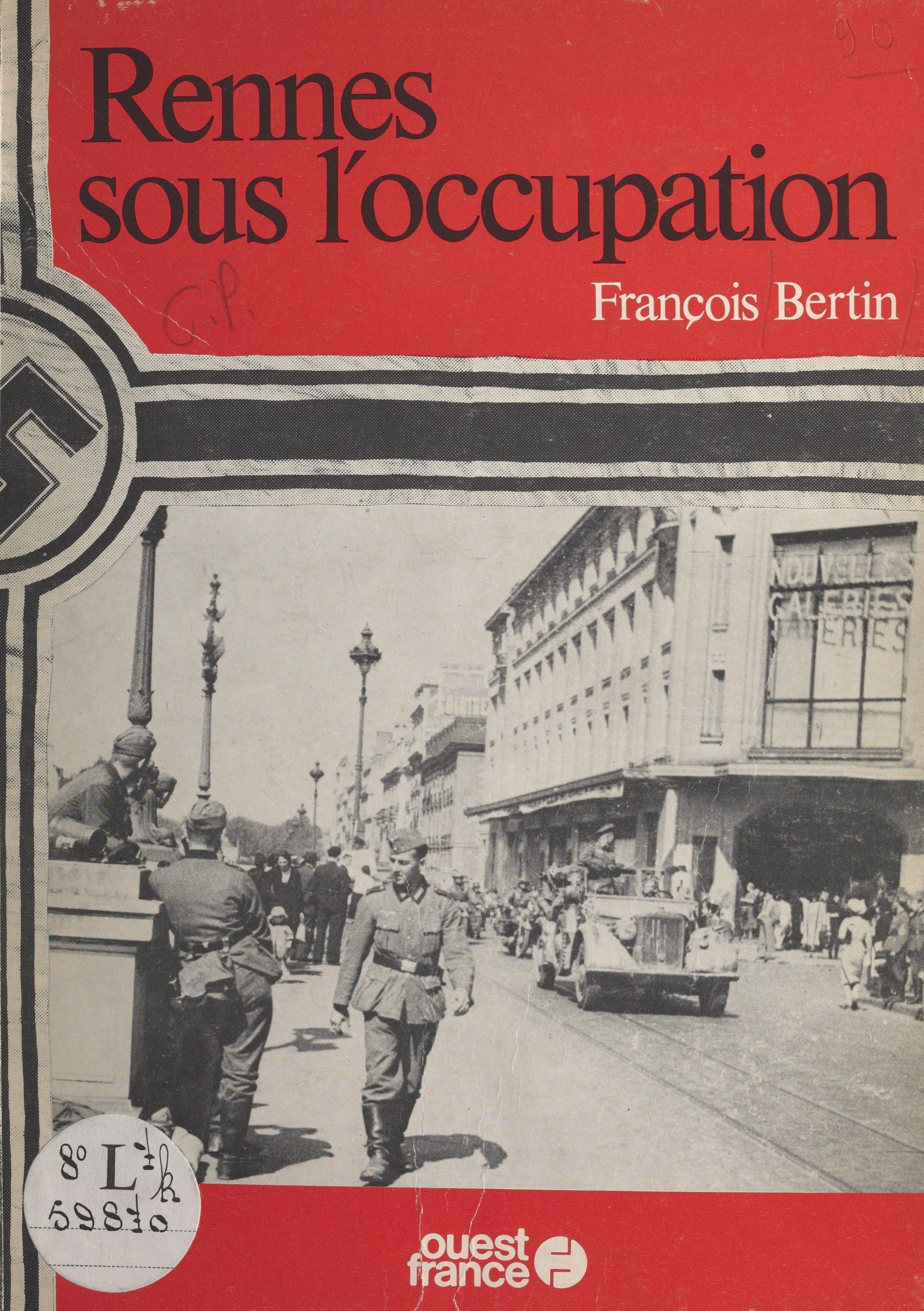 Rennes sous l'occupation
