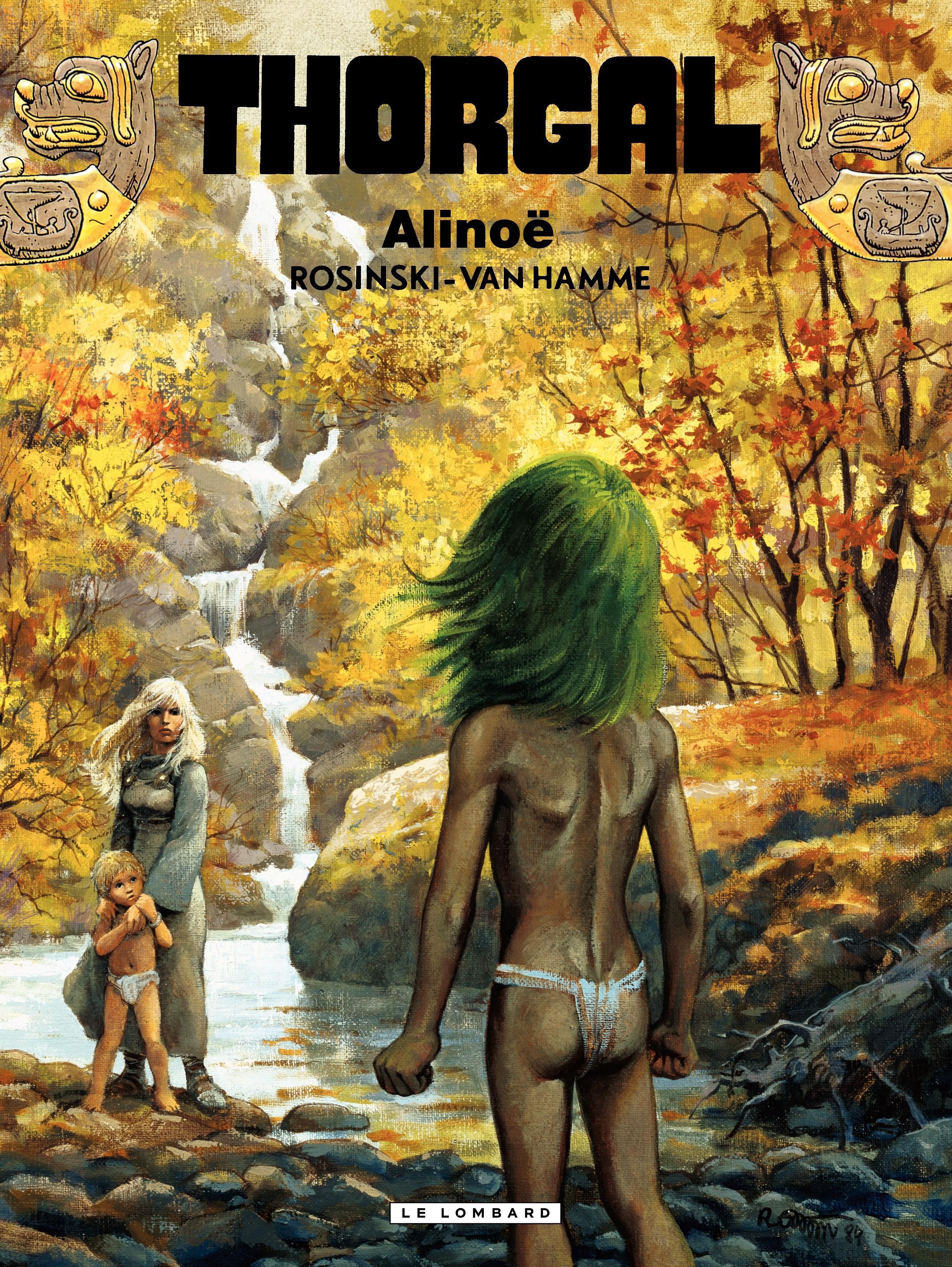 Thorgal - tome 08 - Alinoë