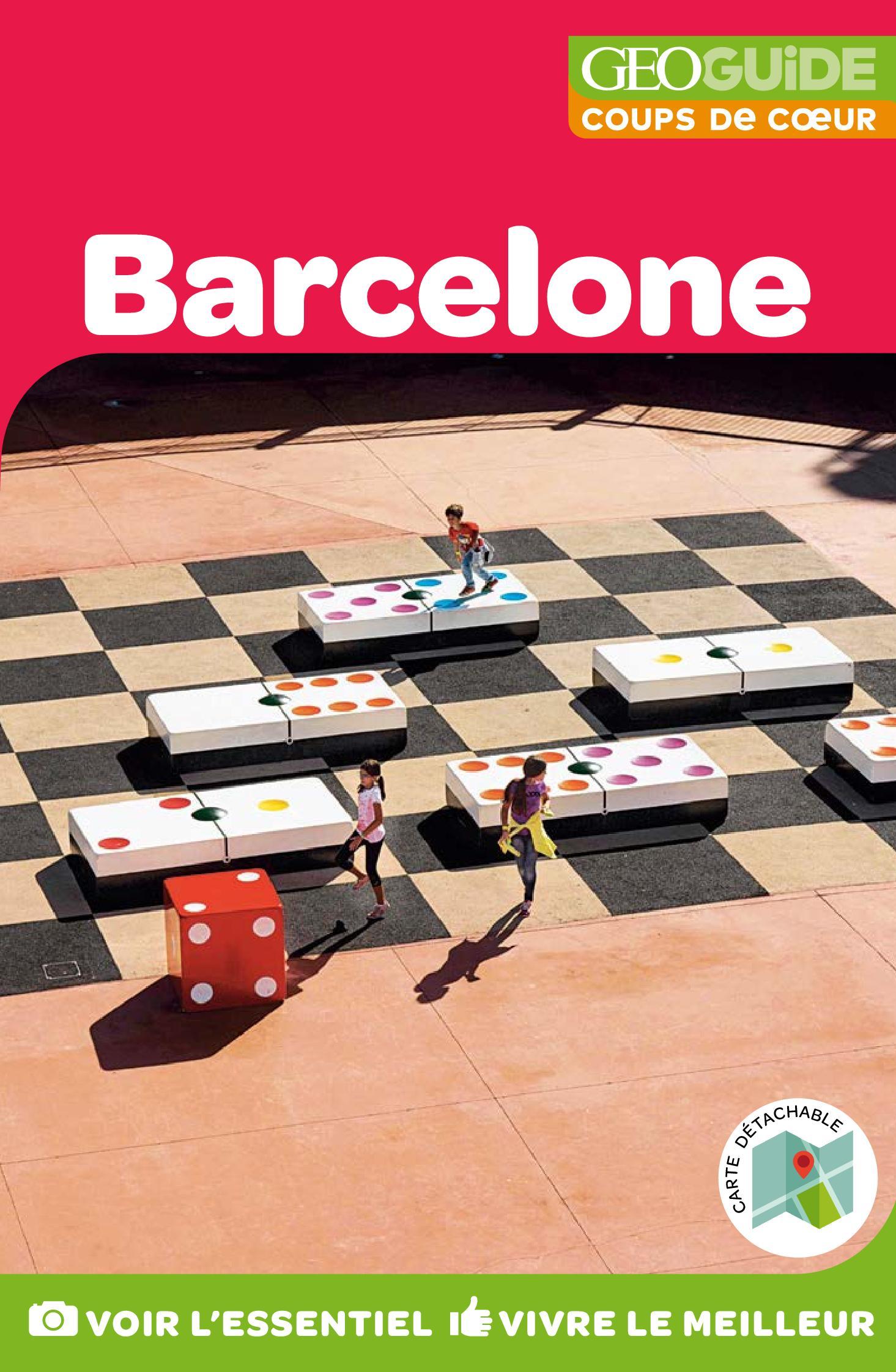 GEOguide Coups de coeur Barcelone | Collectif,