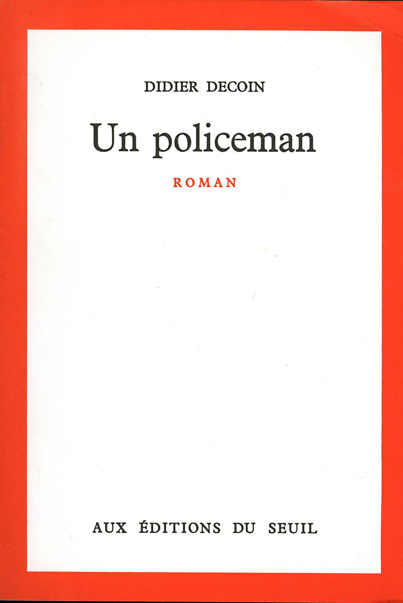 Un policeman
