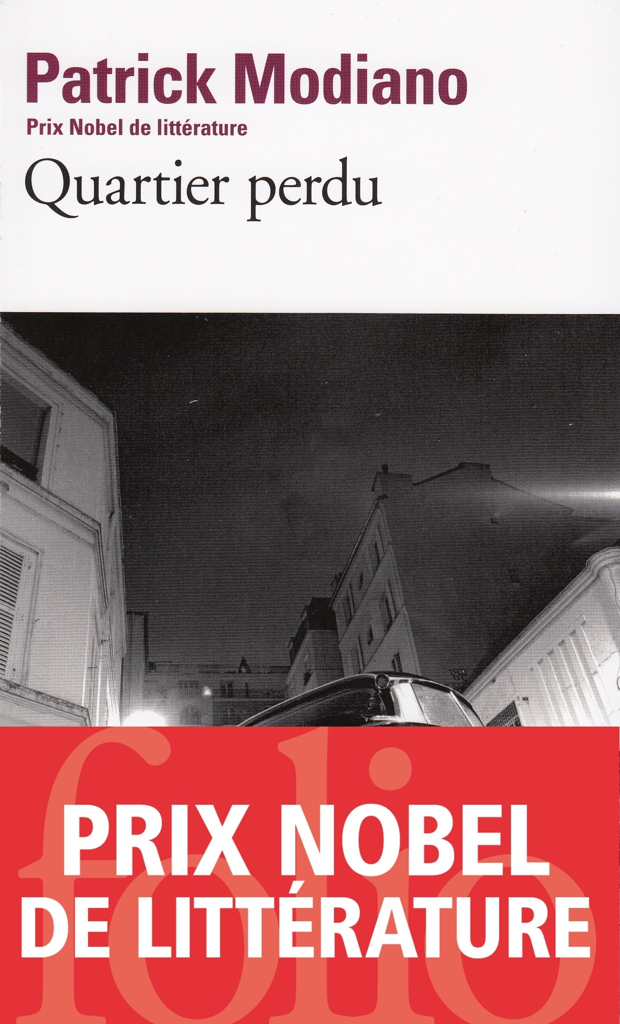 Quartier perdu | Modiano, Patrick
