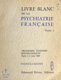 Livre blanc de la psychiatr...