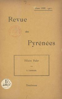 Hilaire Pader, peintre toul...