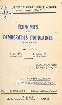 Économies des démocraties p...