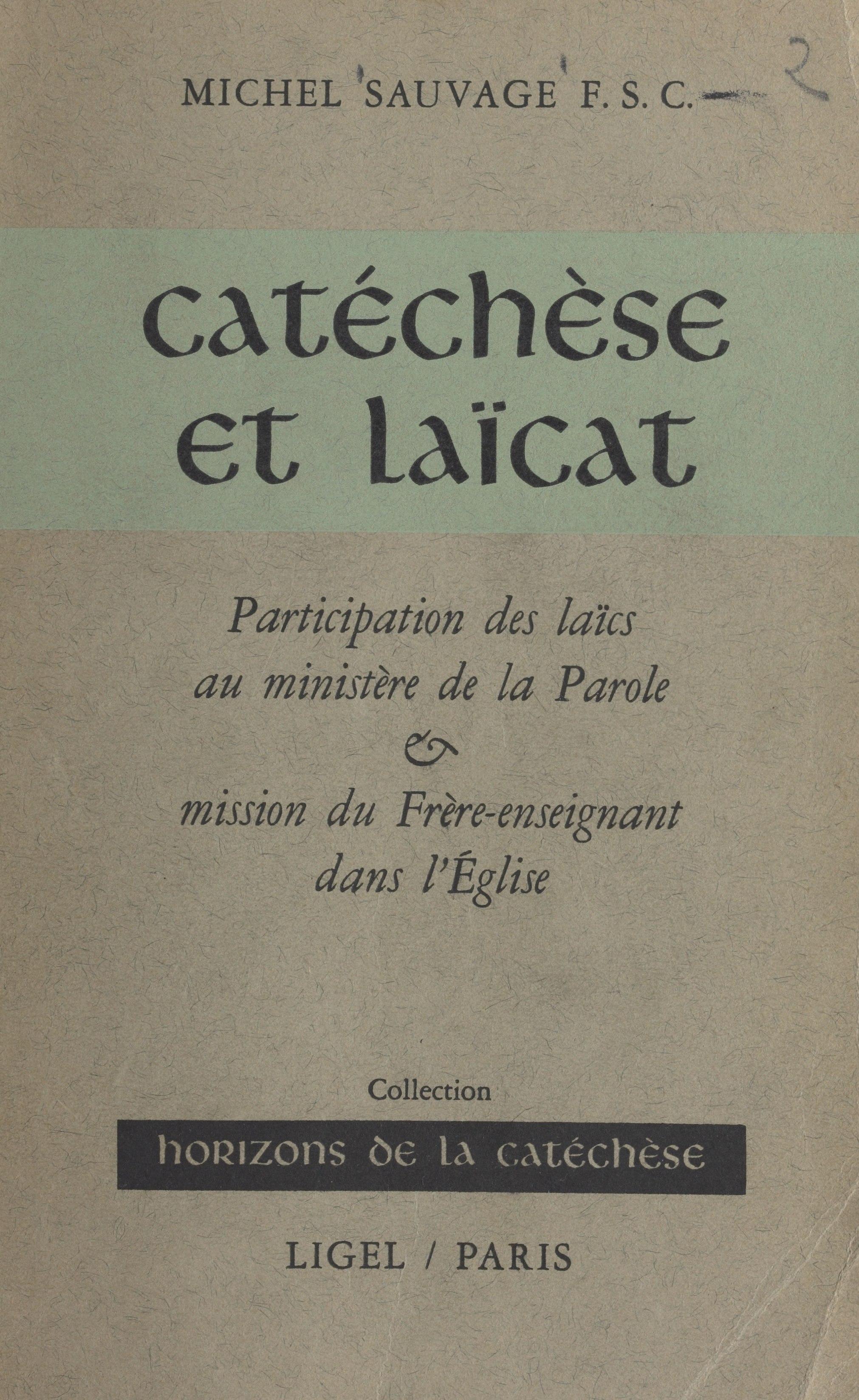 Catéchèse et laïcat