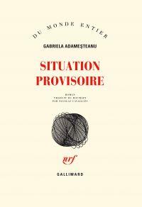 Situation provisoire   Adamesteanu, Gabriela (1942-....). Auteur