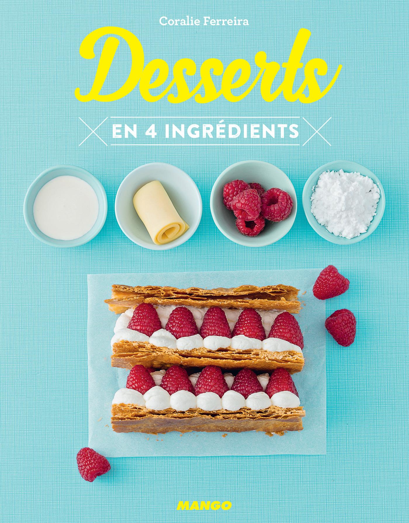 Desserts en 4 ingrédients