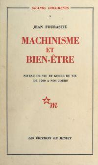 Machinisme et bien-être : n...
