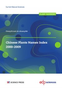 Chinese Plants Names Index ...