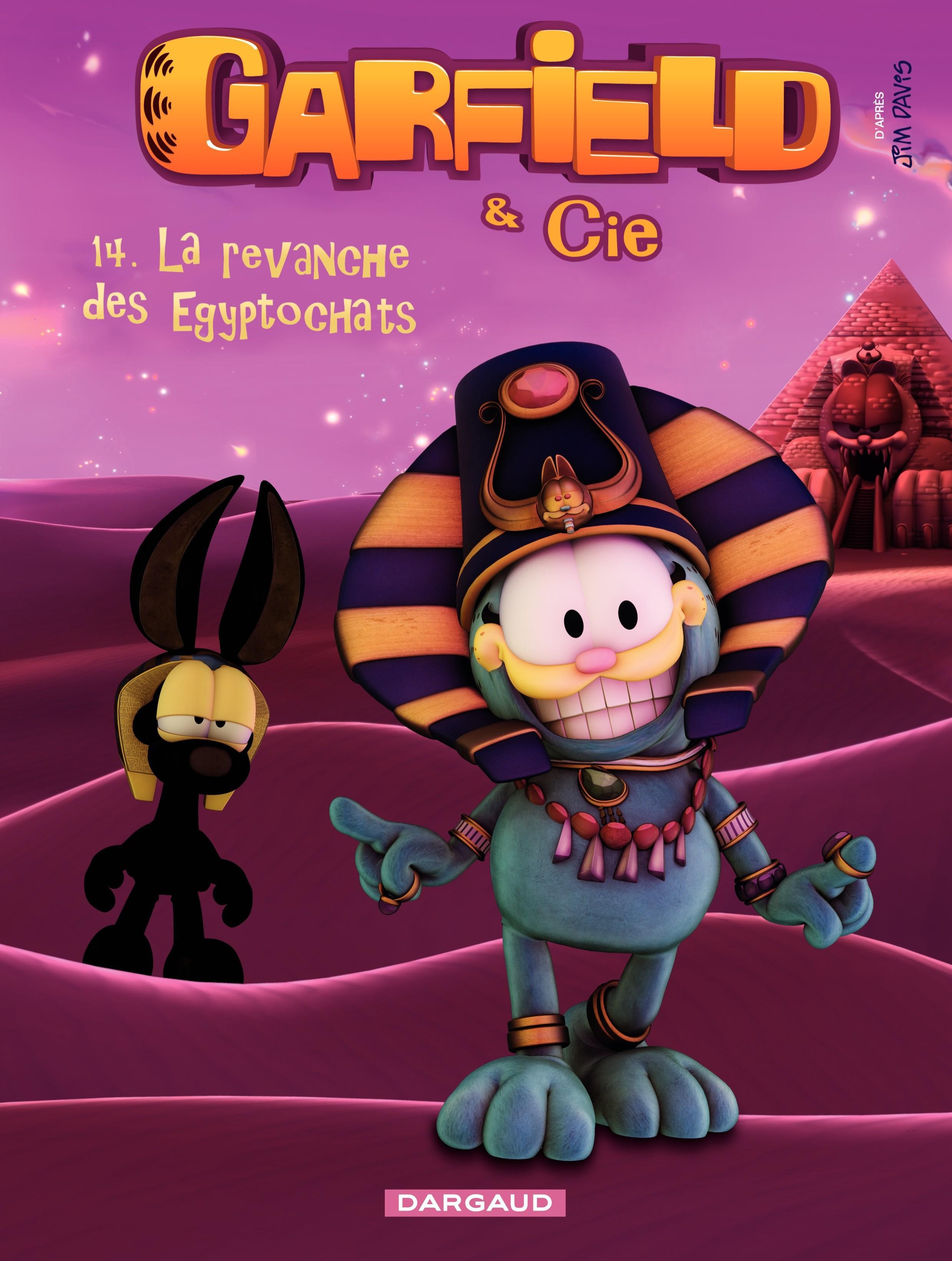 Garfield & Cie – tome 14 - La revanche des Egyptochats