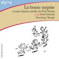 La bonne surprise et autres histoires inédites du Petit Nicolas