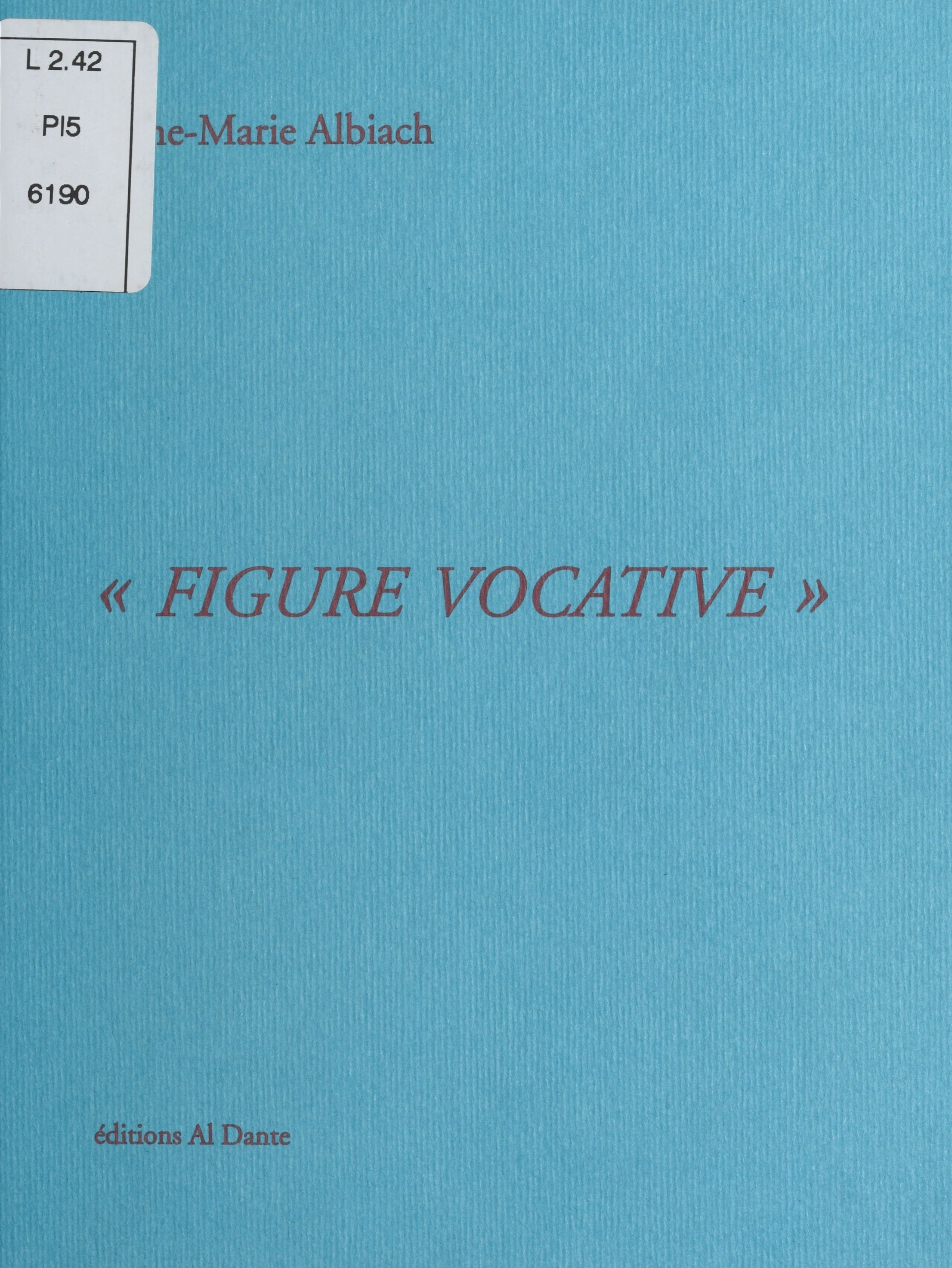Figure vocative