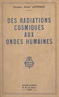 Des radiations cosmiques au...
