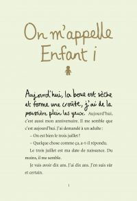 On m'appelle Enfant i | Tasane, Steve