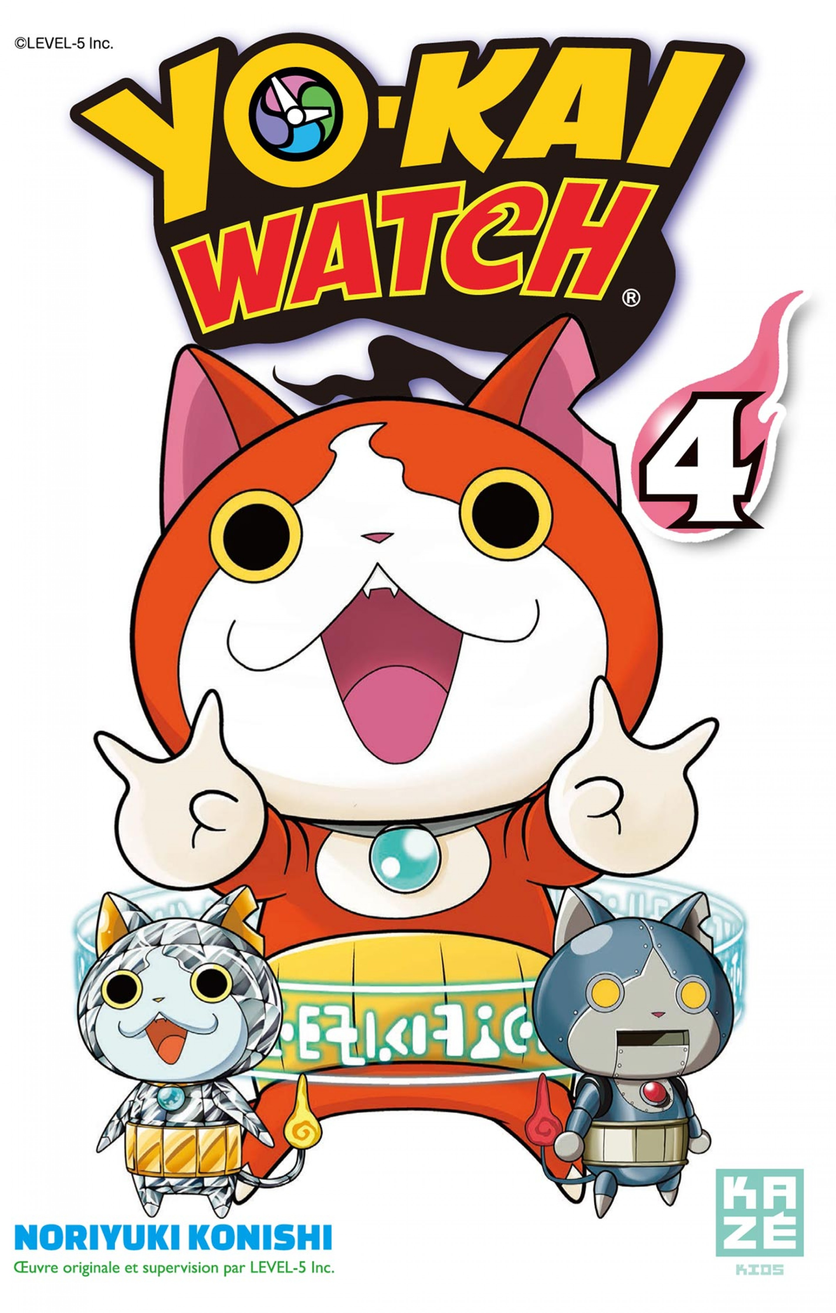 Yo-Kai Watch - Tome 4