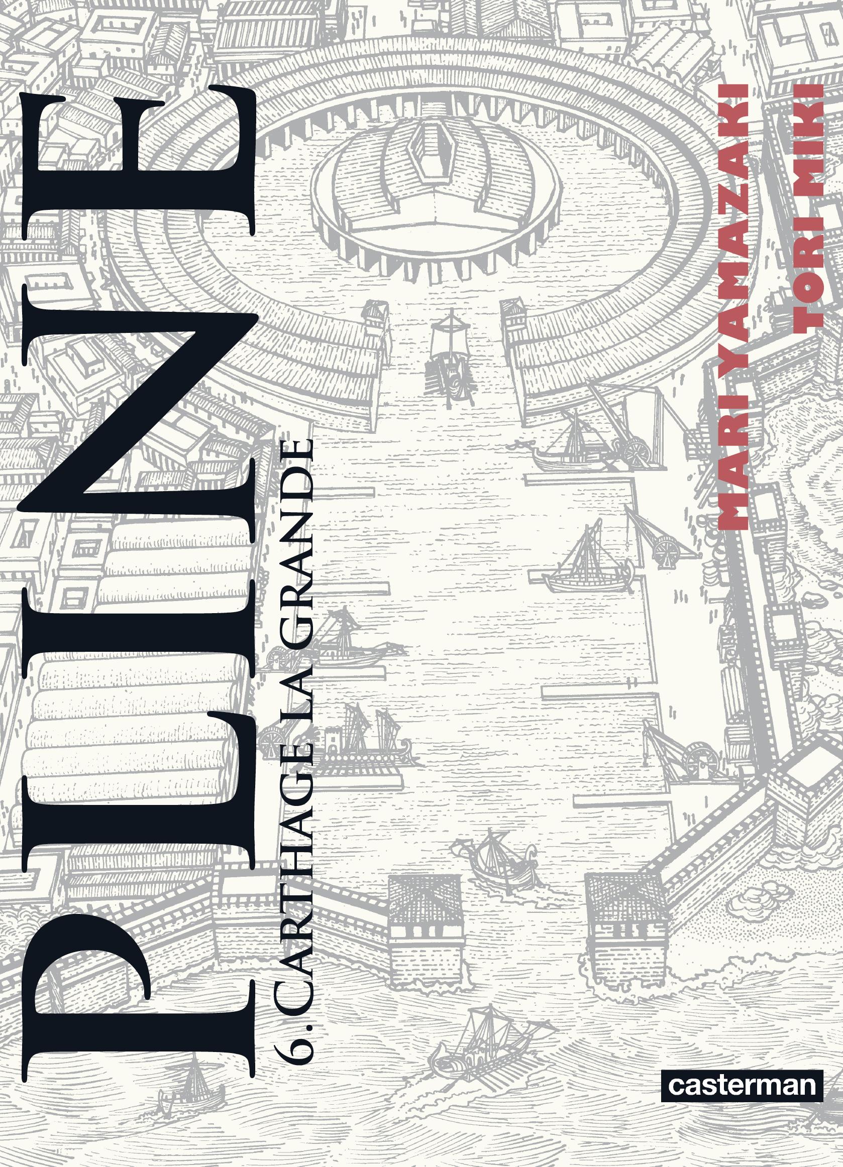 Pline (Tome 6) - Carthage la grande   Yamazaki, Mari