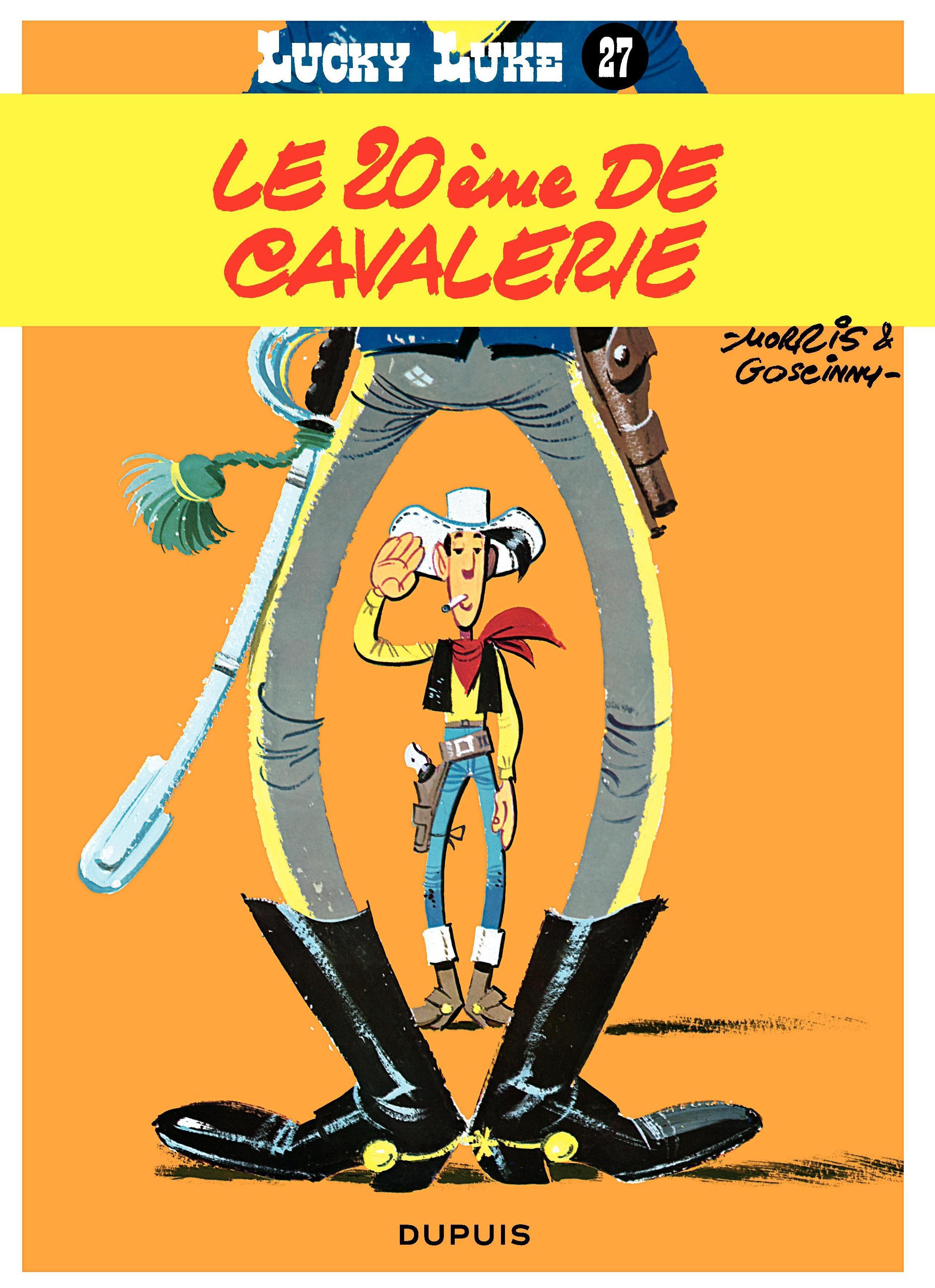 Lucky Luke - Tome 27 - LE 20IEME DE CAVALERIE