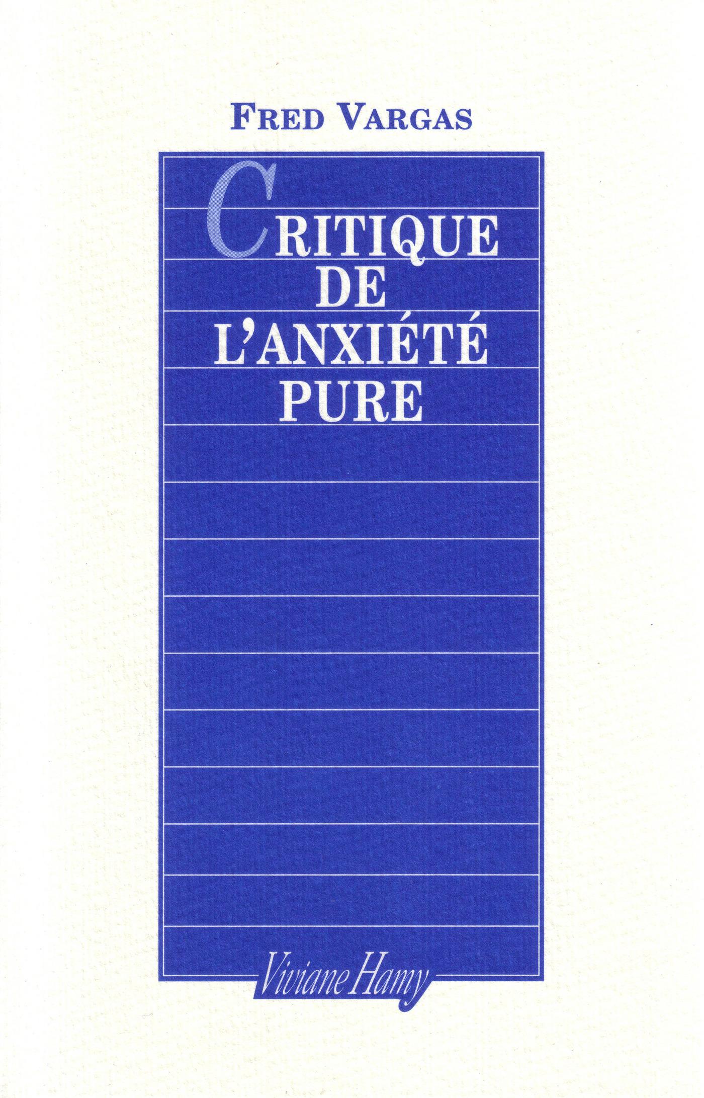 Critique de l'anxiété pure
