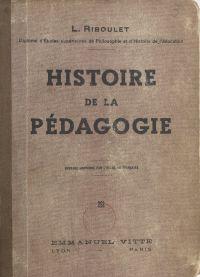 Histoire de la pédagogie