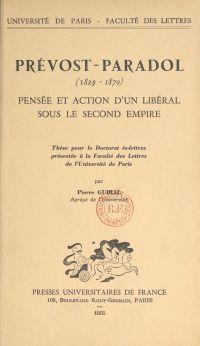 Prévost-Paradol (1829-1870)...