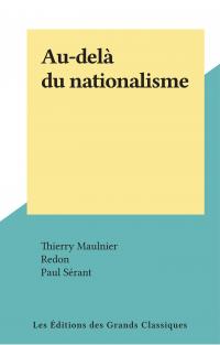 Au-delà du nationalisme