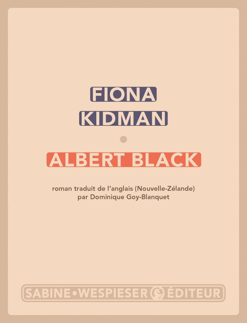 Albert Black |