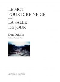 Le Mot pour dire neige suivi de la Salle de jour | DeLillo, Don (1936-....). Auteur