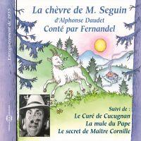 Image de couverture (Les Lettres de mon Moulin (Vol. 1) - La chèvre de Monsieur Seguin - Le curé de Cucugnan - La mule du Pape - Le secret de Maître Cornille)