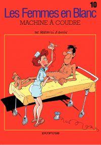 Les Femmes en Blanc – tome 10 - MACHINE A COUDRE