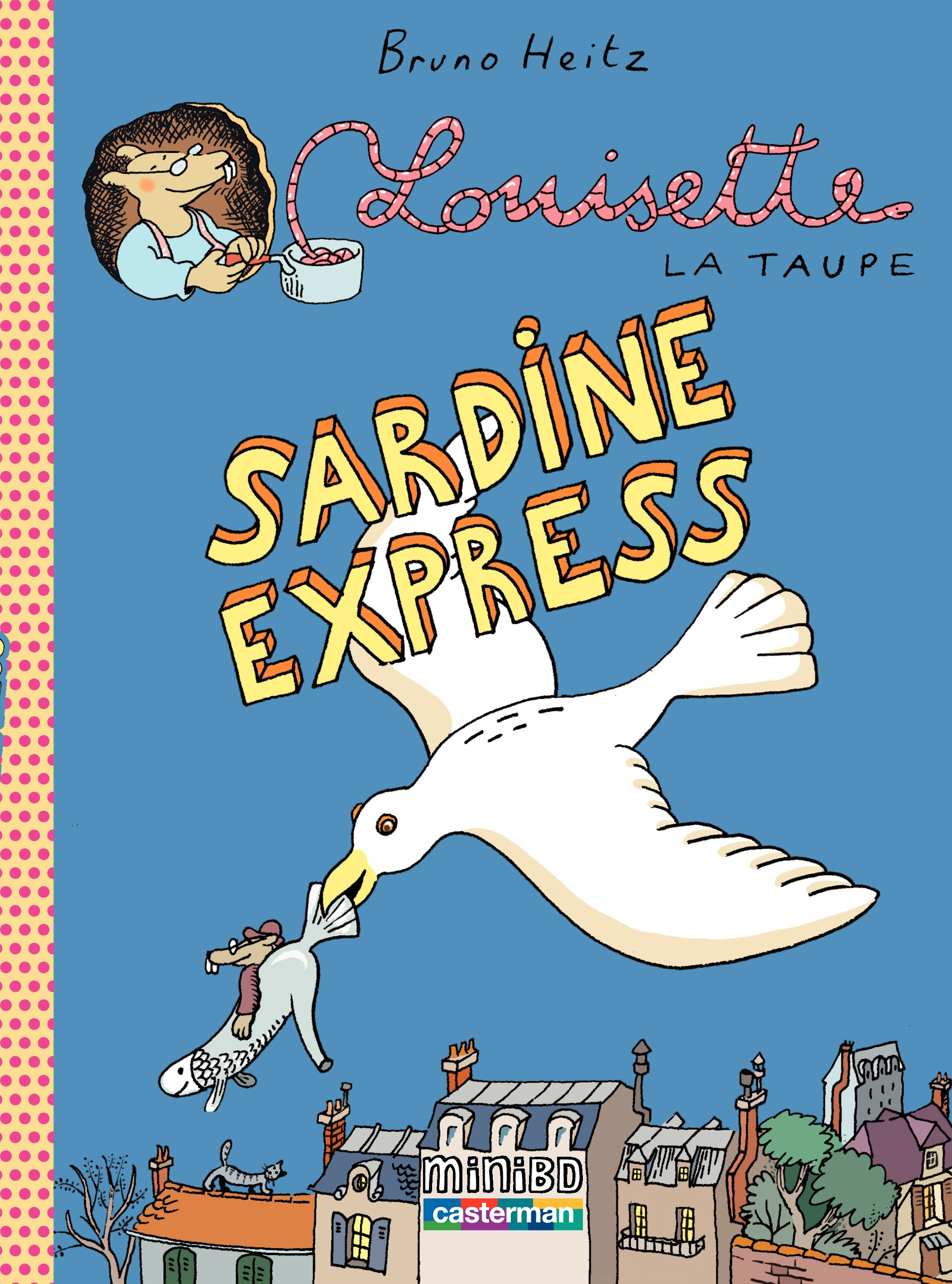 Louisette la taupe (Tome 2) - Sardine express