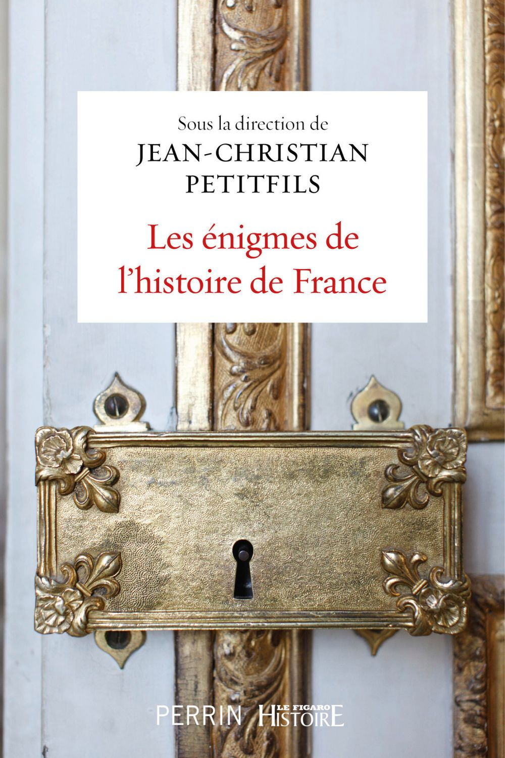 Les énigmes de l'histoire de France   Petitfils, Jean-Christian
