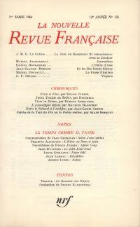 La Nouvelle Revue Française N' 135 (Mars 1964)