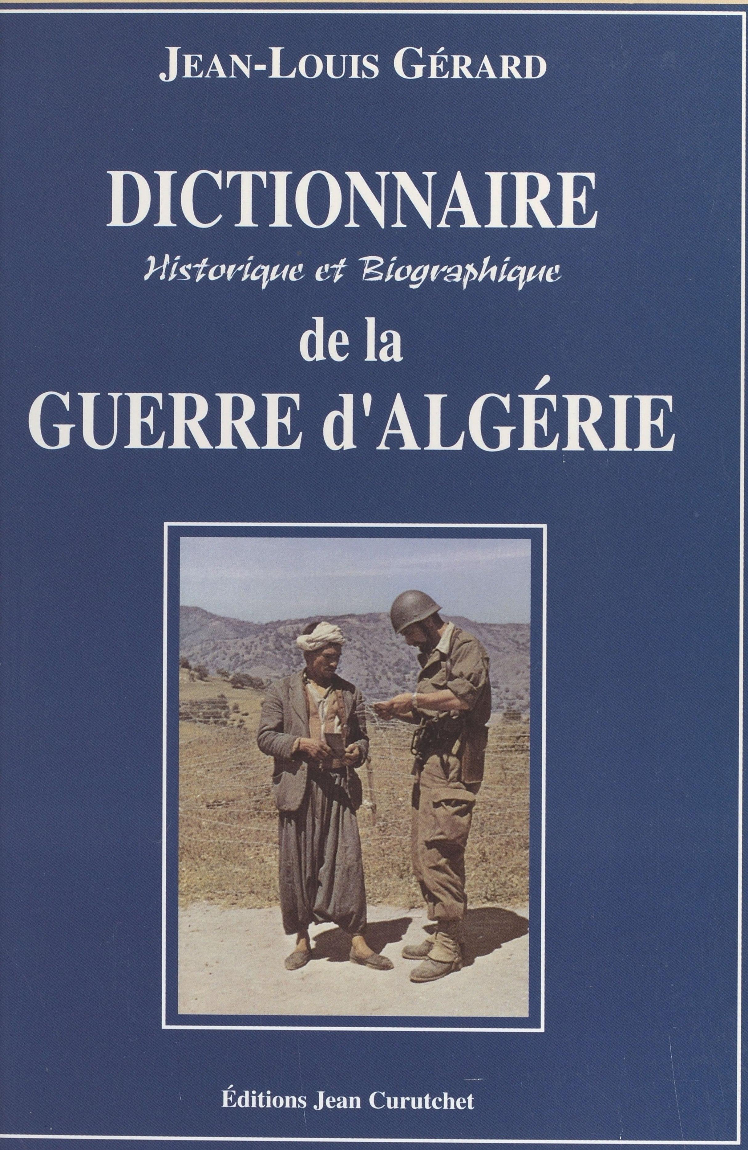 Dictionnaire historique et ...