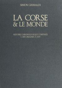 La Corse et le monde (1). D...