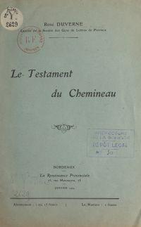 Le testament du Chemineau