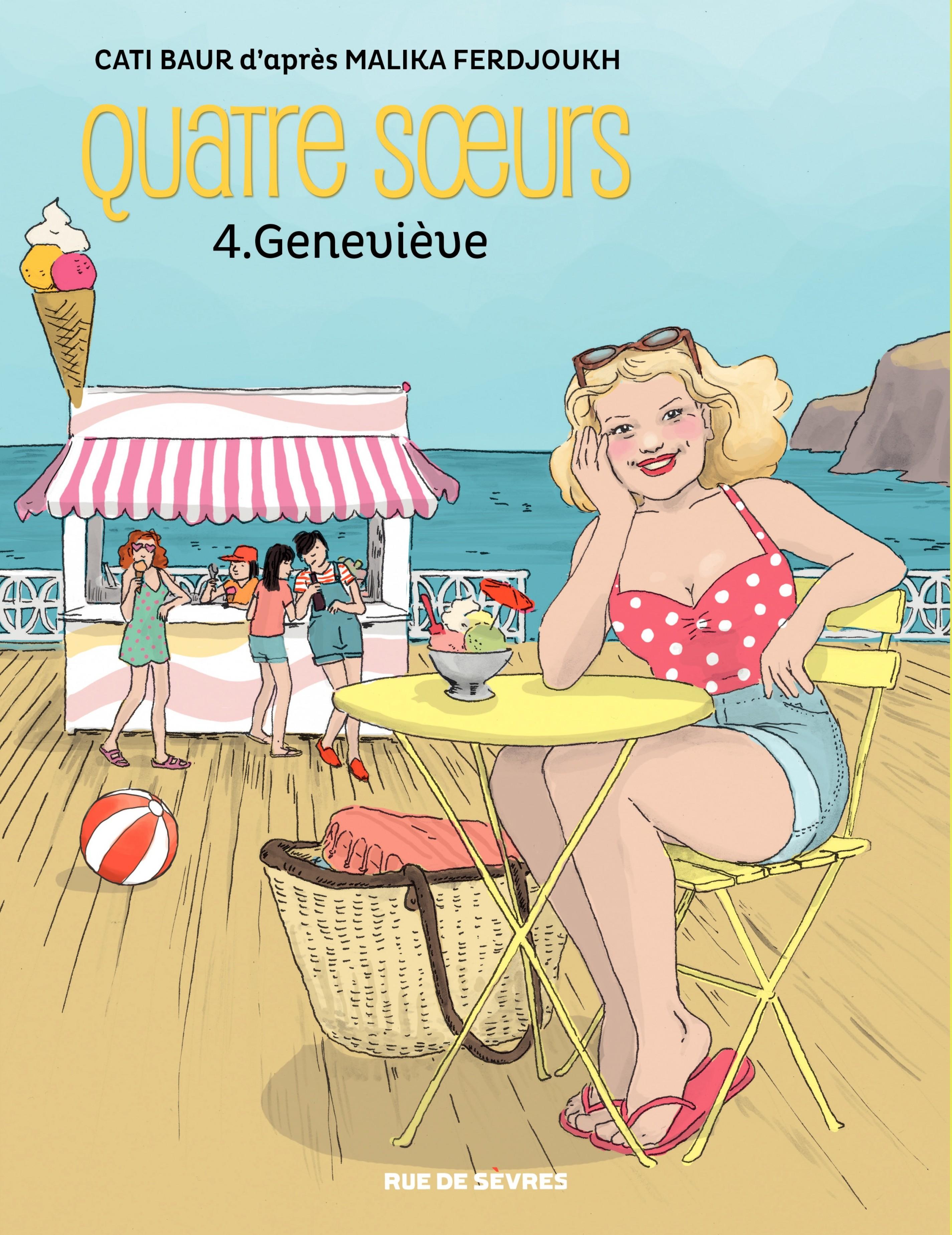 Quatre sœurs - Tome 4 - Geneviève
