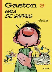 Gaston (Edition 2018) - tome 3 - Gala de gaffes (Edition 2018) | Franquin, André (1924-1997). Auteur