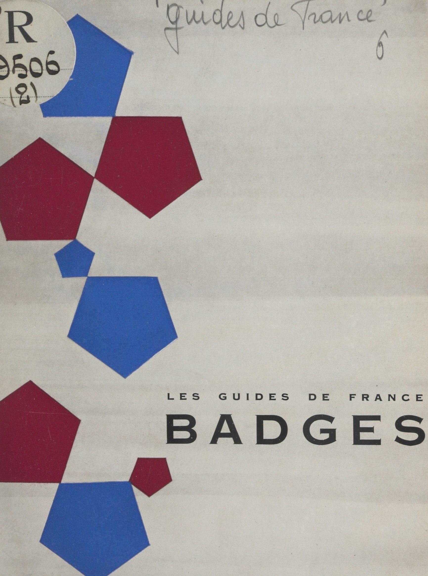 Les Guides de France : badges