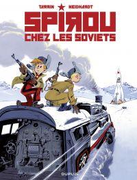 Image de couverture (Les aventures de Spirou et Fantasio, Spirou chez les soviets)