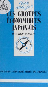 Les groupes économiques jap...