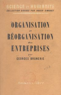 Organisation et réorganisat...