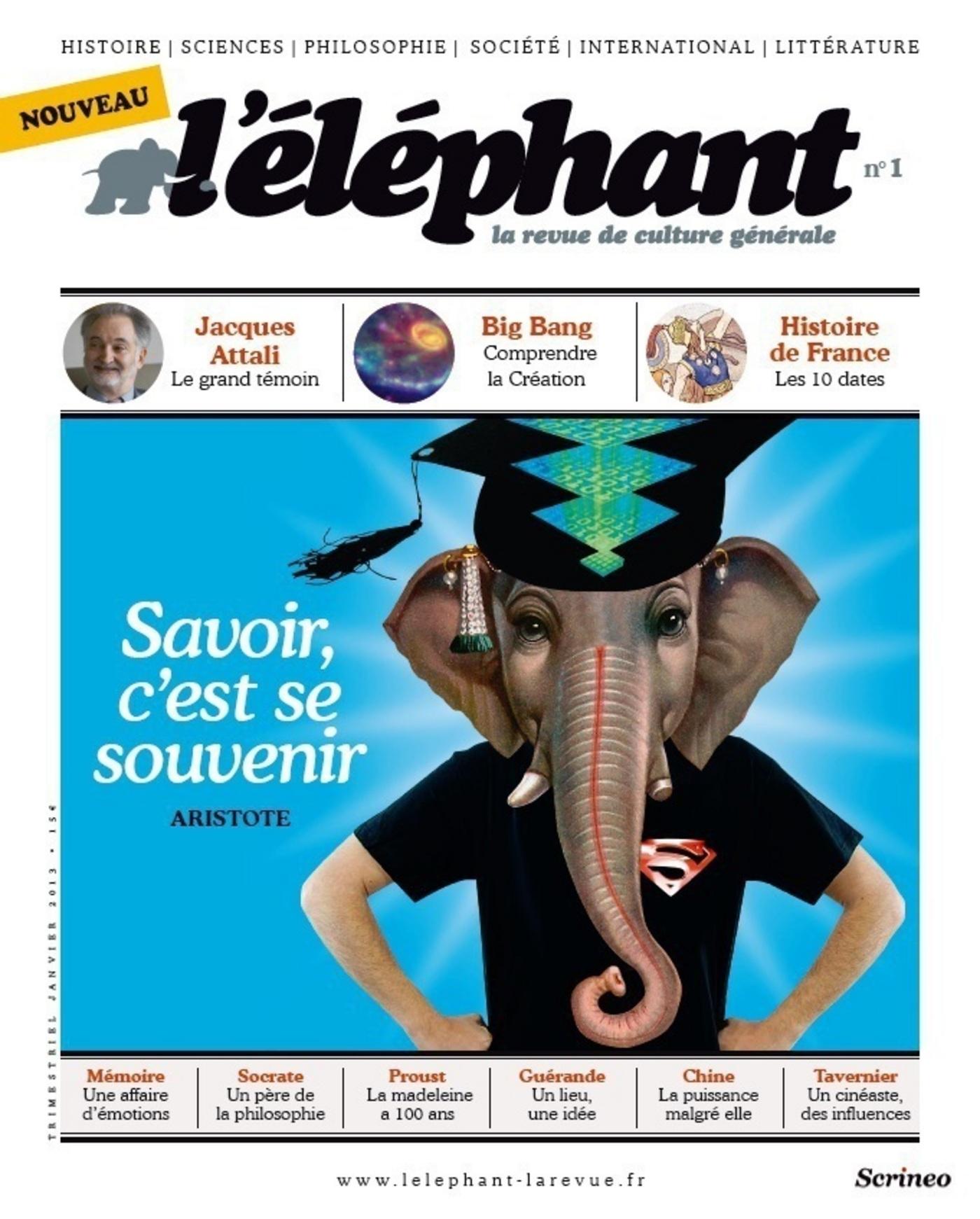 L'Eléphant : La revue 1