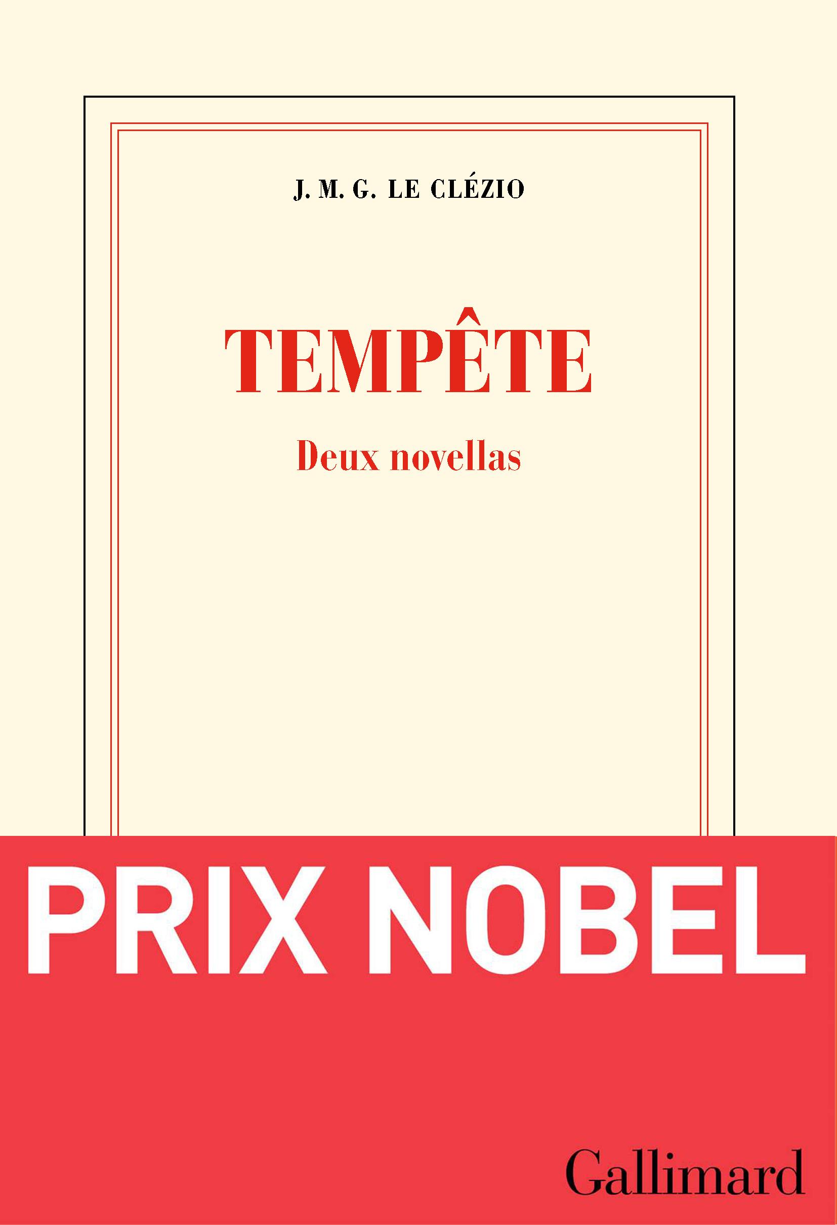 Tempête | Le Clézio, Jean-Marie Gustave