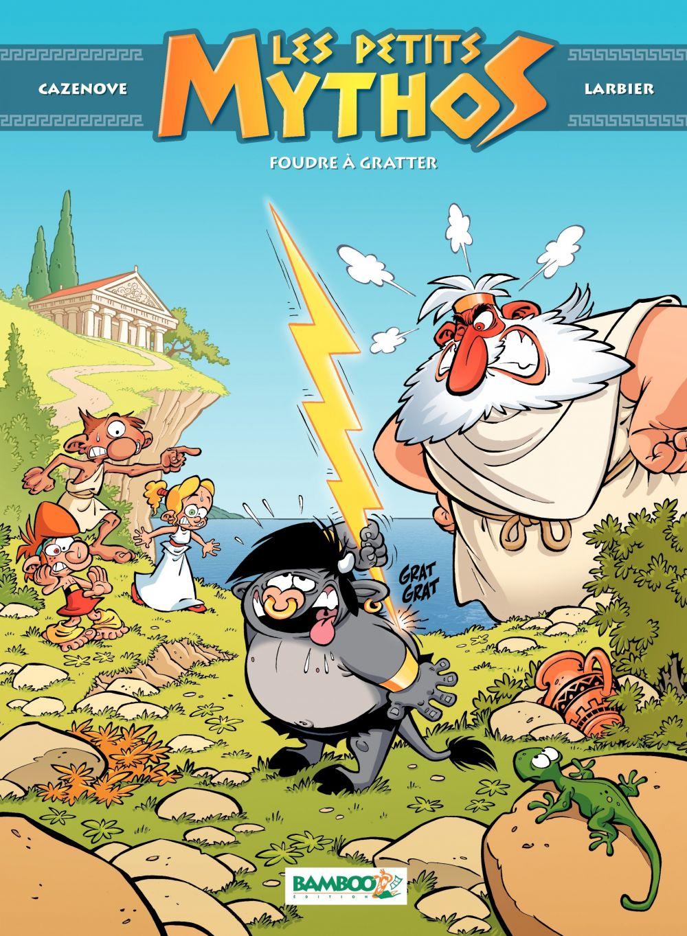Les Petits Mythos - Tome 1 - Foudre à gratter (nouvelle édition) |