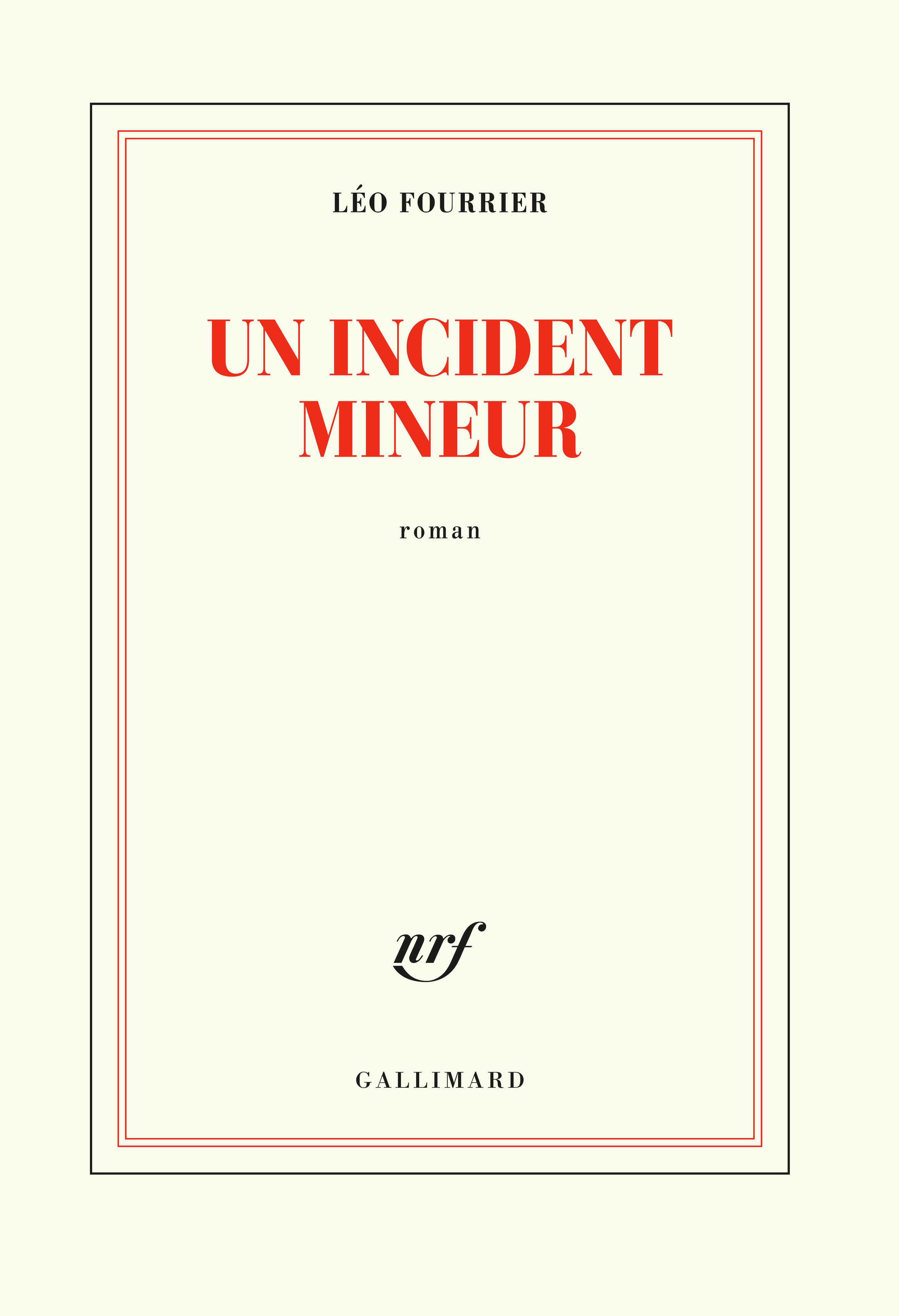 Un incident mineur