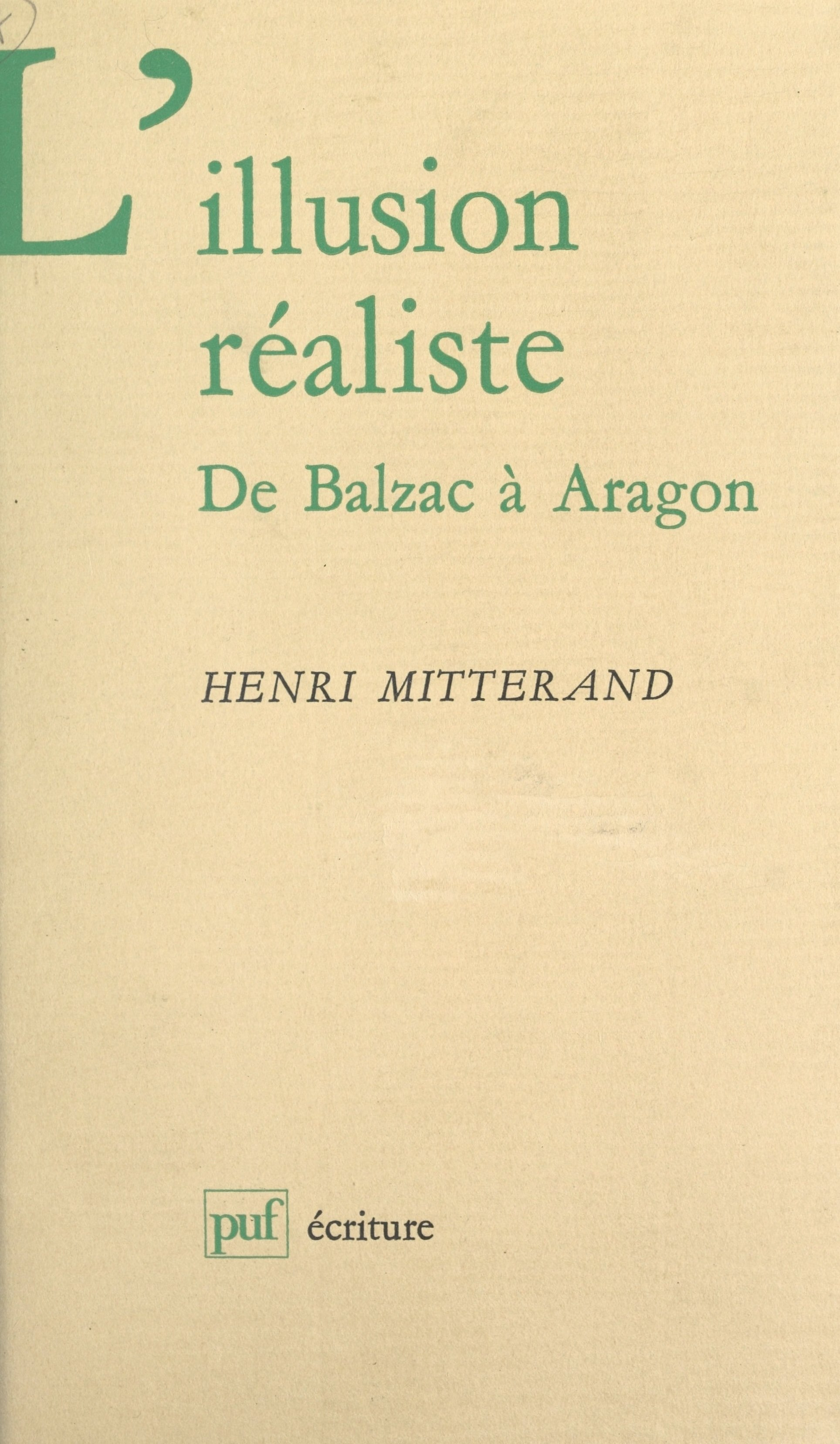 L'illusion réaliste
