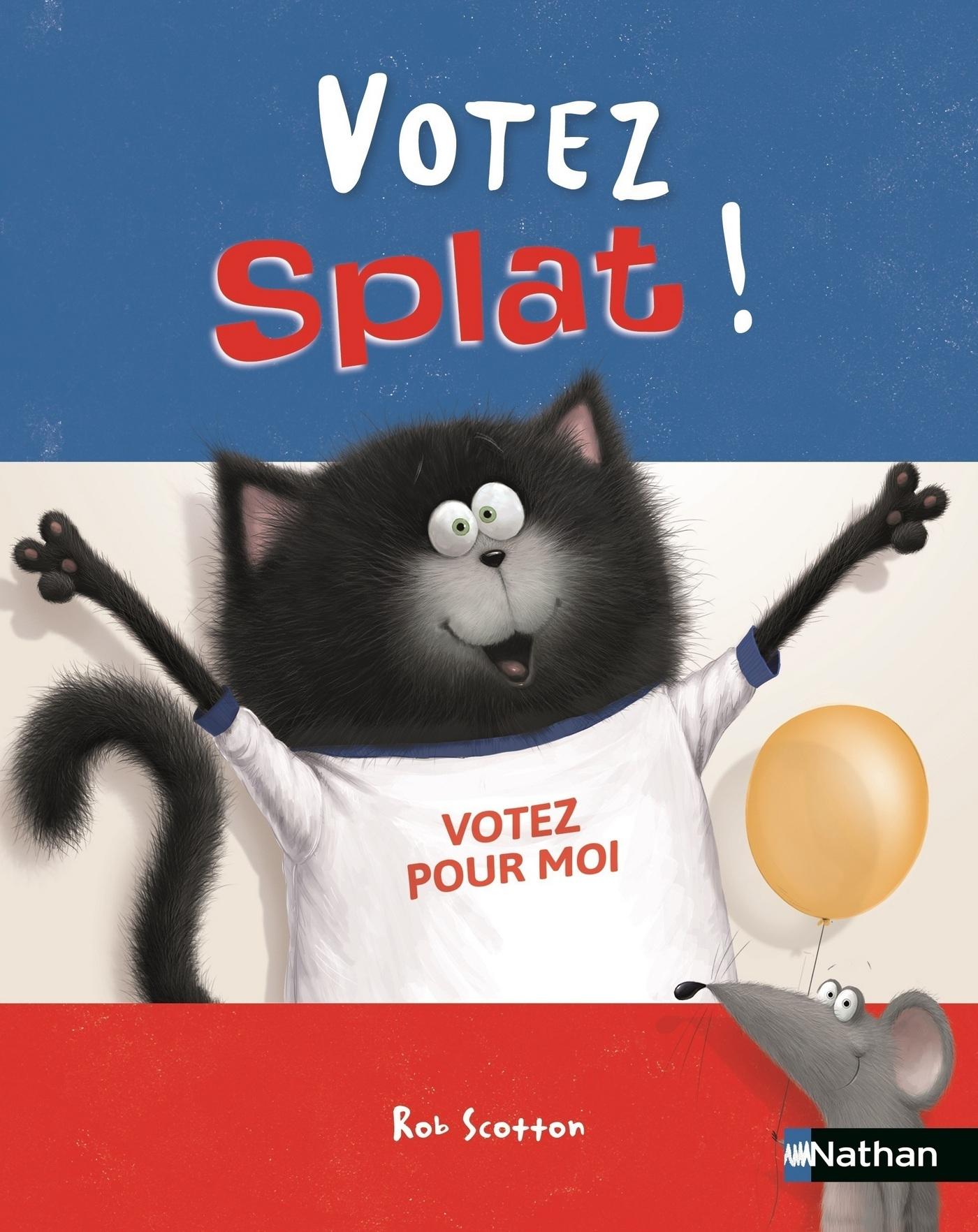 Votez Splat ! - Dès 4 ans