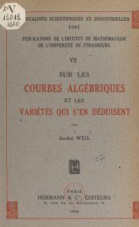 Sur les courbes algébriques...
